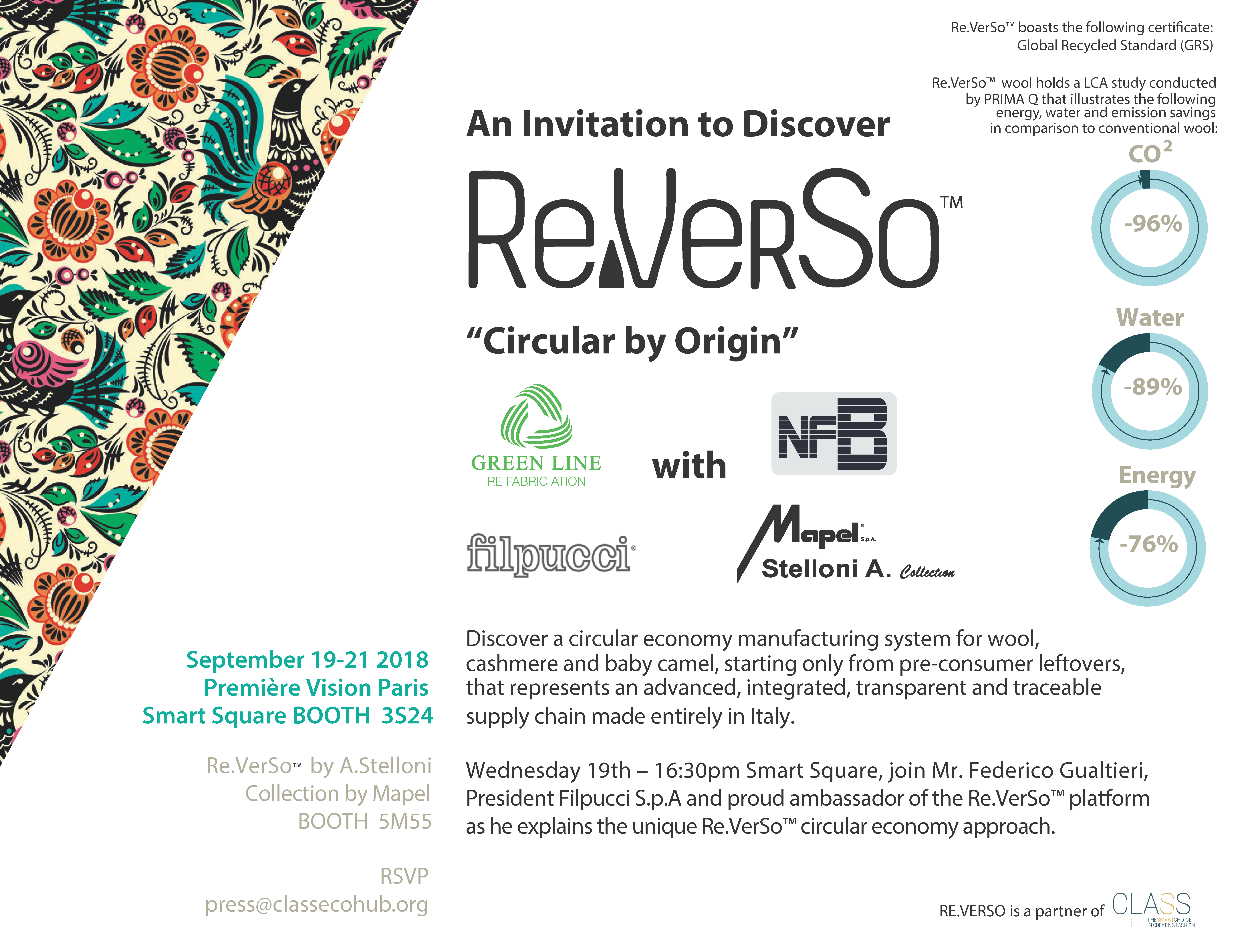 Re.VerSo™, Circular by Origin, Beautiful by Design