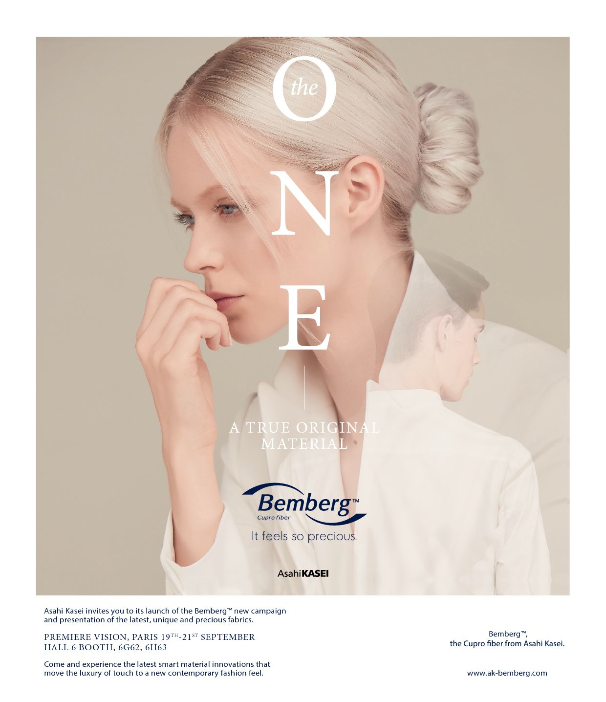 Bemberg™ new brand Campaign @ Premiere Vision