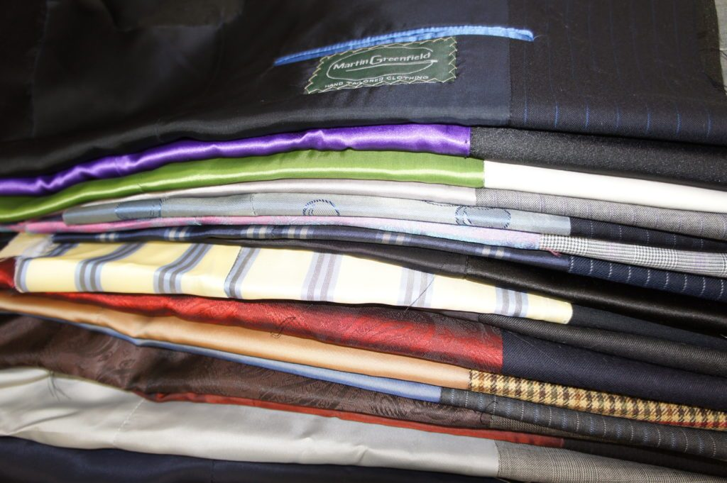 Martin Greenfield premium suits made with Bemberg™ lining