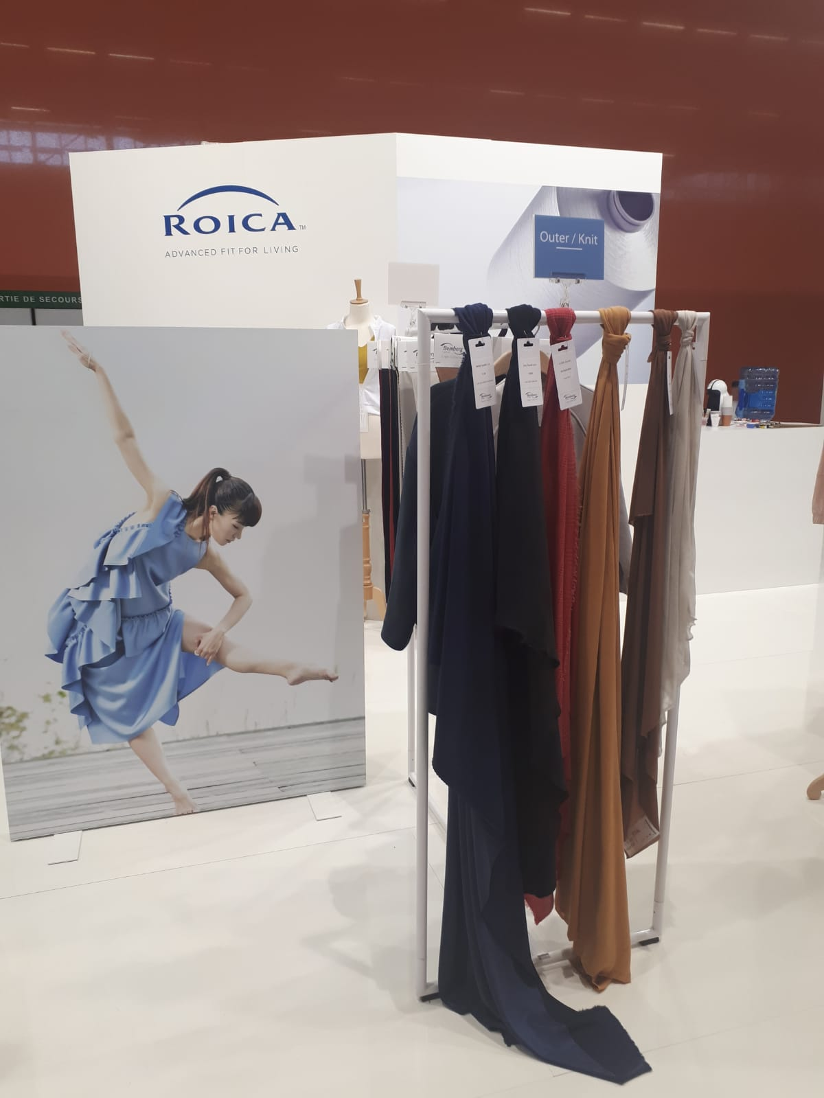 ROICA™ Joins Première Vision Paris February 12-14, 2019                                          Hall 6 booth 6H56 6J57