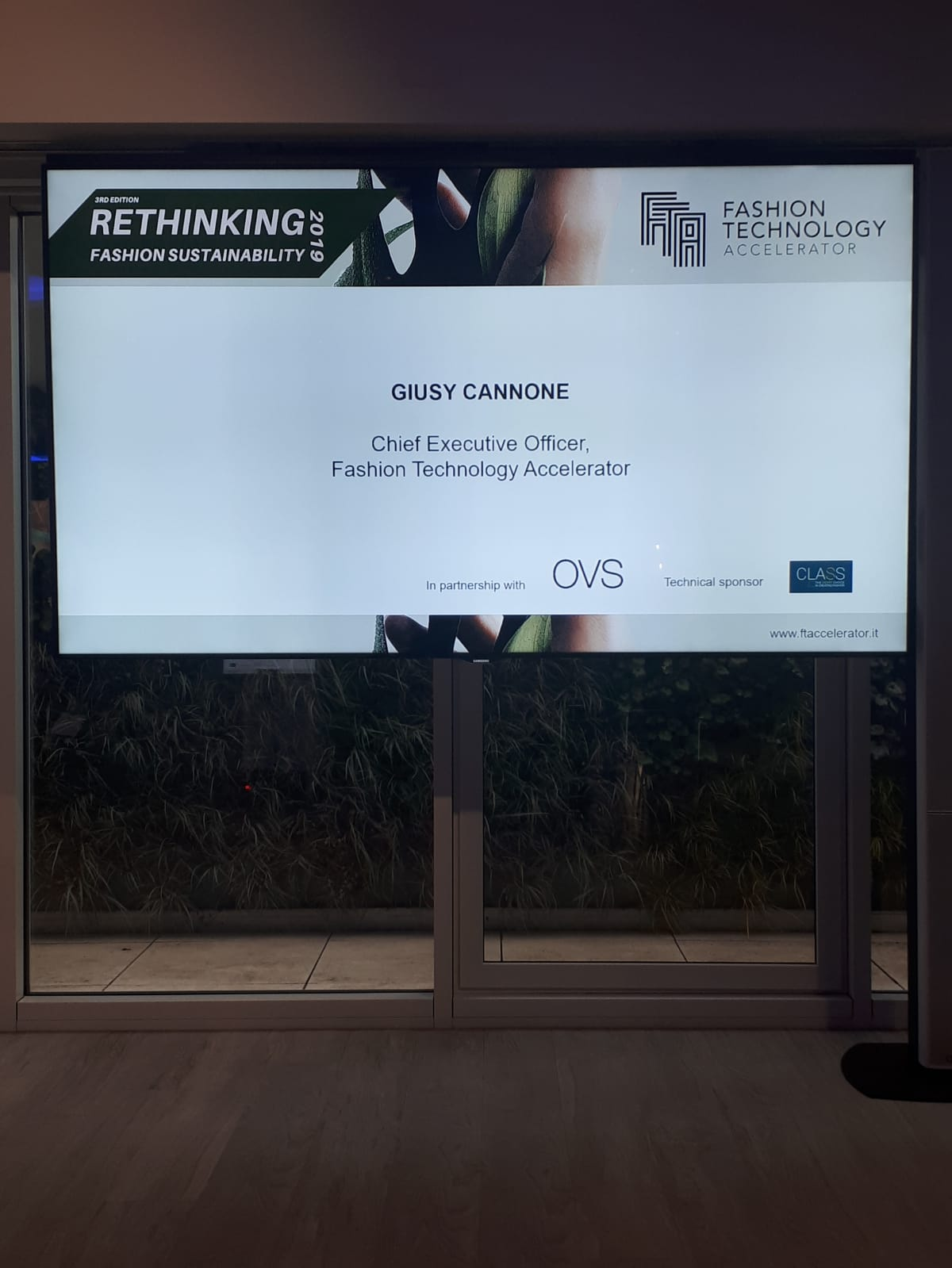 Rethinking Fashion Sustainability – Milan, March 7th, 2019