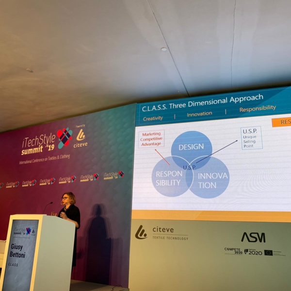 iTechStyle summit, event, iTechStyle summit 2019, conference, citeve, porto, class ecohub, giusy bettoni