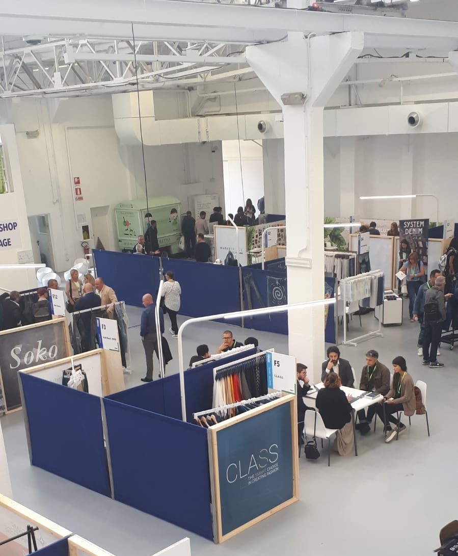 C.L.A.S.S. first time at Denim Première Vision: supporting and spreading circular economy approach with its smart innovation hub